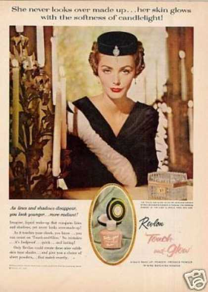 Revlon Touch & Glow Makeup (1959)