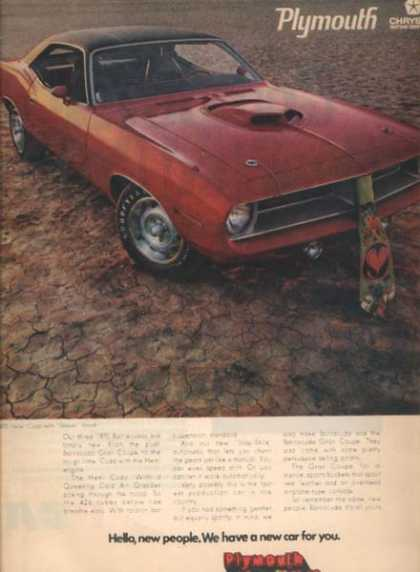 Chrysler's Plymouth Valiant/ Duster/ Barracuda (1969)