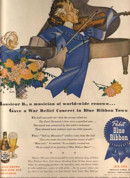 Blue Ribbon Town (1944)
