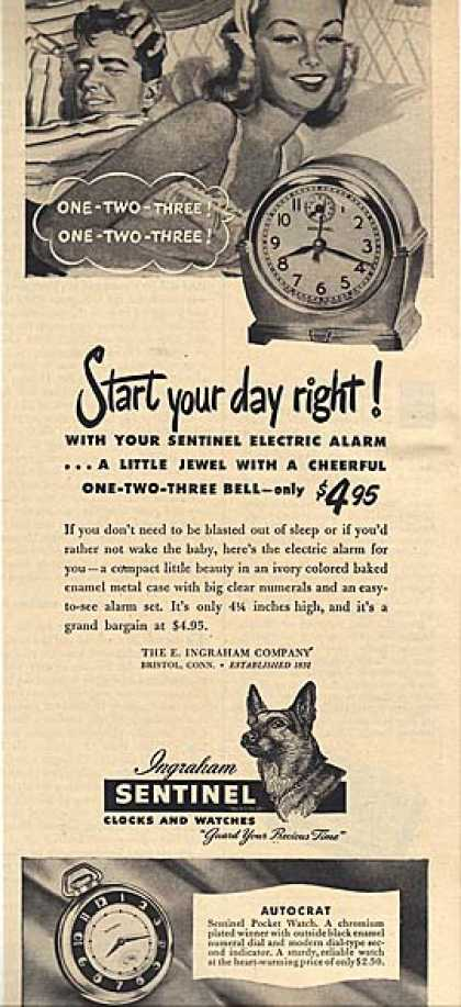 Ingraham's Electric Alarm (1948)