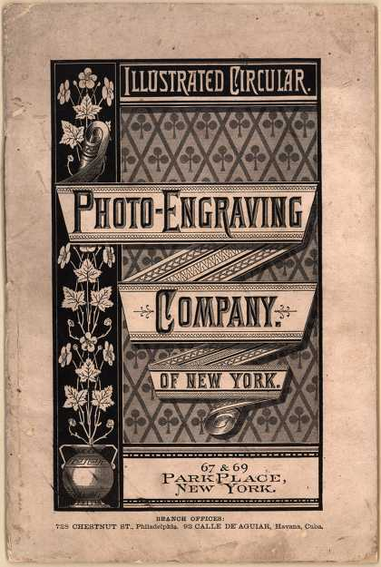 Photo-Engraving Co. of New York&#8217;s Photo Engraving &#8211; Illustrated Circular