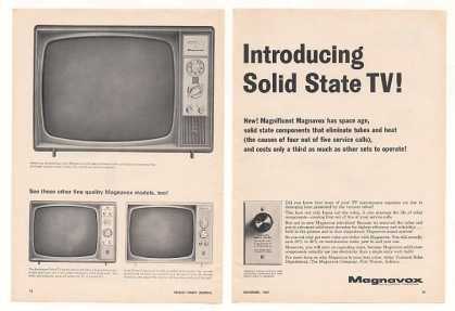 Magnavox Solid State Motel TV Television (1967)
