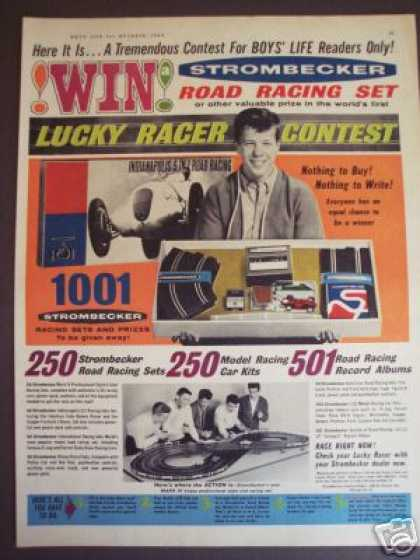 Strombecker Slot Car Track Contest (1963)