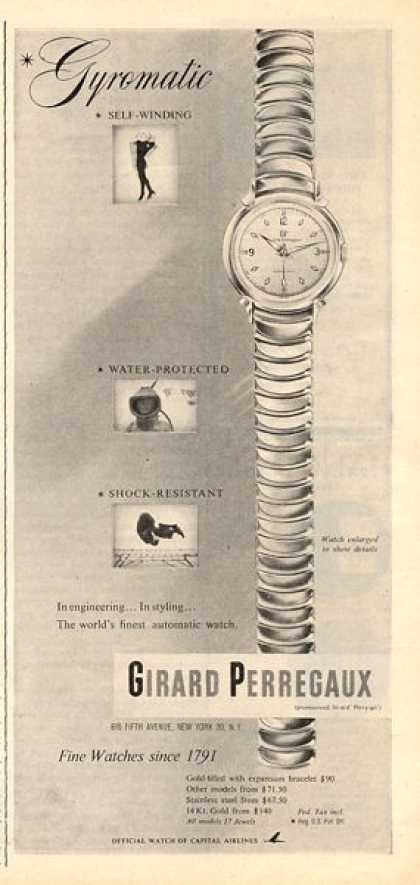 Girard Perregaux Watch (1953)