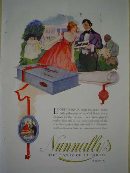 Nunnaly's The candy of the South Atlanta AND Grinnell Company Automatic Sprinkler System (1920)
