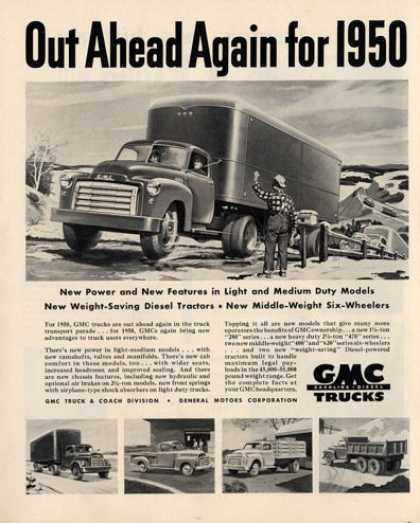 Gmc Heavy Duty Trucks (1950)