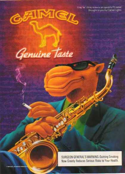 Camel Cigarette – Joe Genuine Sax Player (1994)