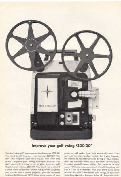 Bell & Howell Film Projector (1964)