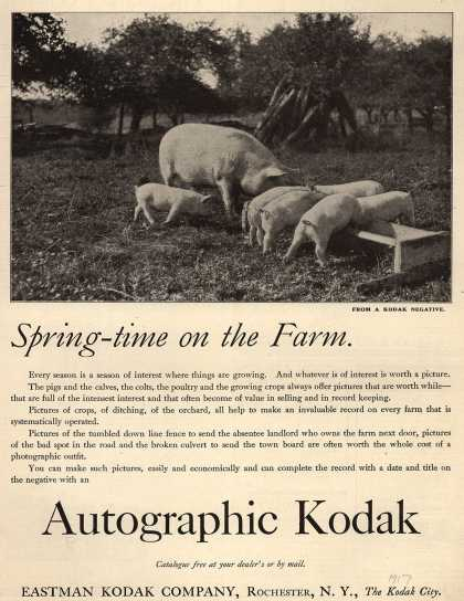 Kodak – Spring-time on the Farm (1917)