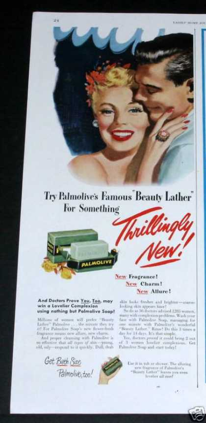 "Palmolive Soap, ""Beauty Lather"" (1949)"