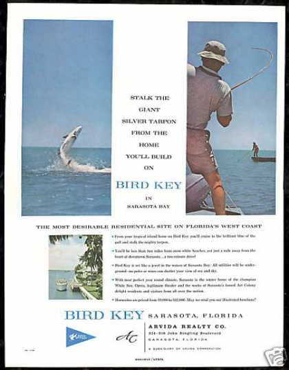 Bird Key Sarasota Florida Homesites Real Estate (1960)