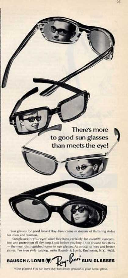 Boush & Lomb Ray Ban Sunglasses (1965)