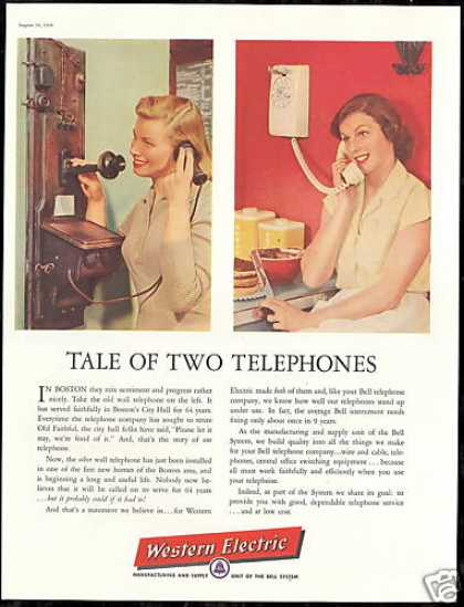 Boston City Hall Telephone Western Electric (1956)