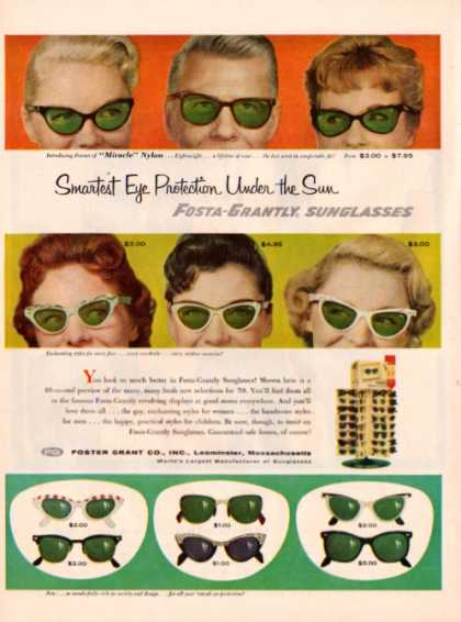 Fosta Grantly Sunglasses Jantzen Beach Clothes (1958)