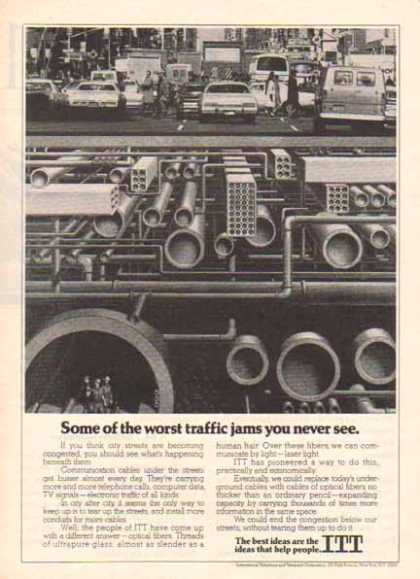 IT&T International Telephone & Telegraph – Traffic Jams (1977)