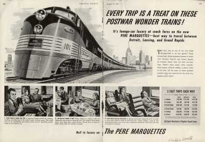 Pere Marquettes – Every Trip is a Treat on These Postwar Wonder Trains (1946)