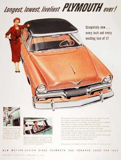 Plymouth Sedan (1955)