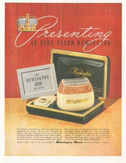 Remington 60 Deluxe Electric Shaver (1952)