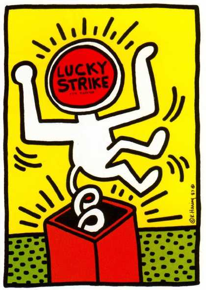Lucky Strike IV – Keith Haring (1987)