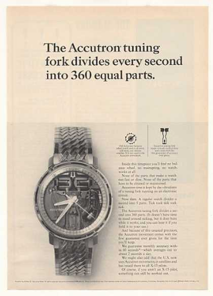 Bulova Accutron Spaceview Model H Watch (1965)