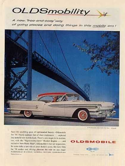 Oldsmobile Car (1958)