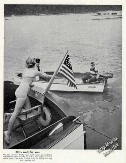 Dunphey Dinghy Type Boat Print Feature (1951)