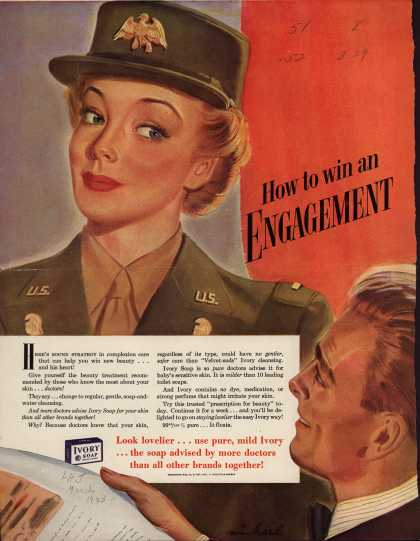 Procter & Gamble Co.'s Ivory Soap – How to win an Engagement (1943)