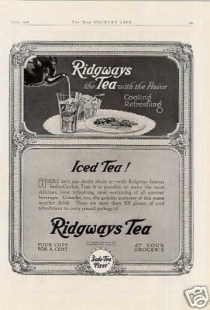 Ridgeways Tea (1918)