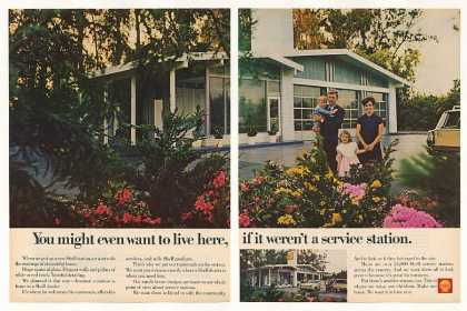 Shell Service Station You Might Live Here (1968)