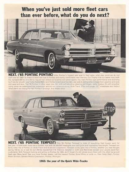 Pontiac and Tempest Fleet Cars Photo (1965)