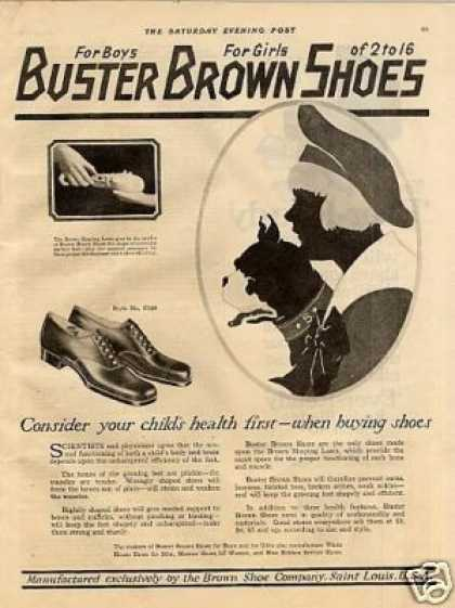 Buster Brown Shoes (1921)