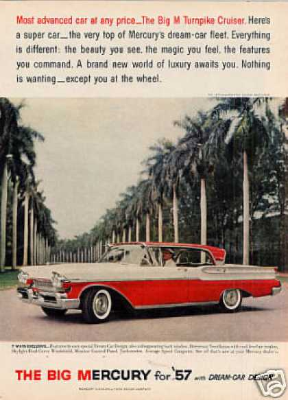 Mercury Turnpike Cruiser Car (1957)