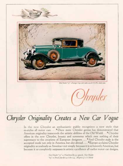Chrysler, USA (1928)