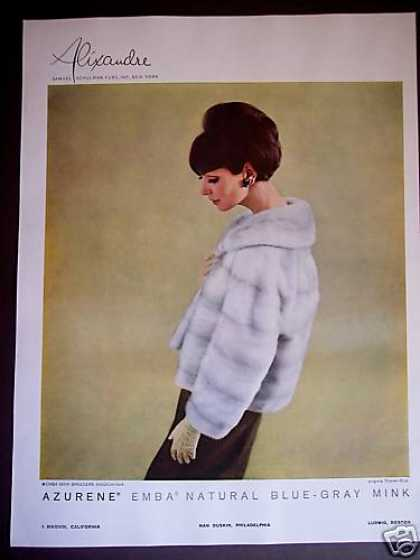 Womam In Emba Mink Jacket Photo (1965)