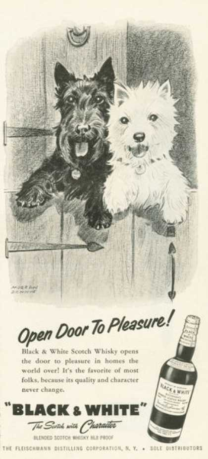 Black & White Scotch Open Door 2 Pleasure (1959)