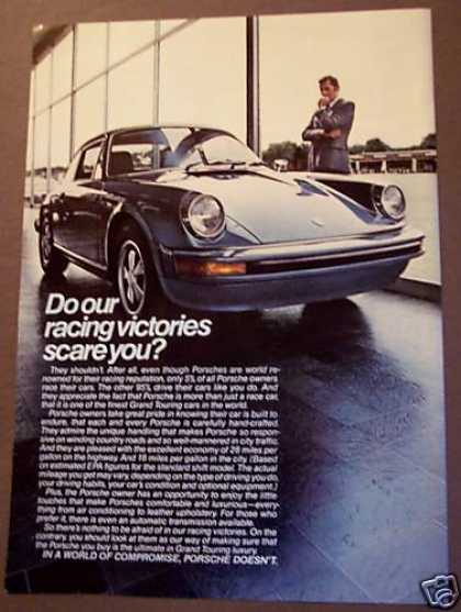 Classic Porsche Automobile Car (1975)