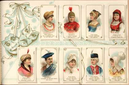 W. Duke Sons & Co. – Costumes of All Nations – Image 19 (1888)