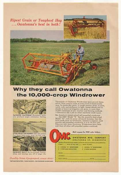 OMC Owatonna Windrower (1958)