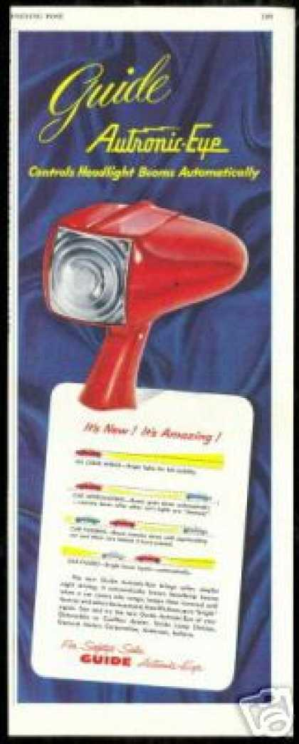Guide Autronic Eye Car Light Control (1952)