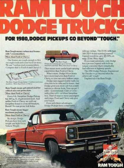 "Ram Tough Dodge Pickups ""Beyond Tough"" (1980)"