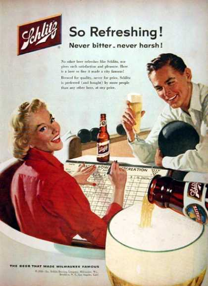 Vintage Alcohol Ads Of The 1950s Page 22