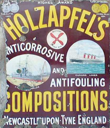 Holzapfel's Anticorrosive & Antifouling Compositions