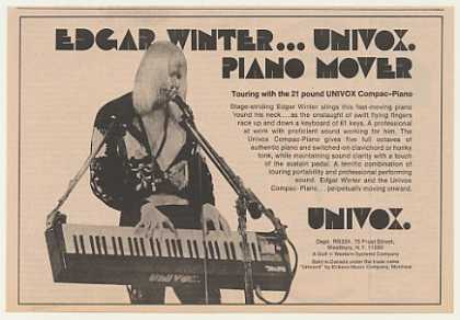 Edgar Winter Univox Compac-Piano (1974)