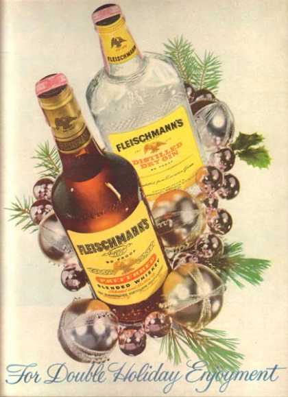 Fleischmann's Blended Whiskey (1958)