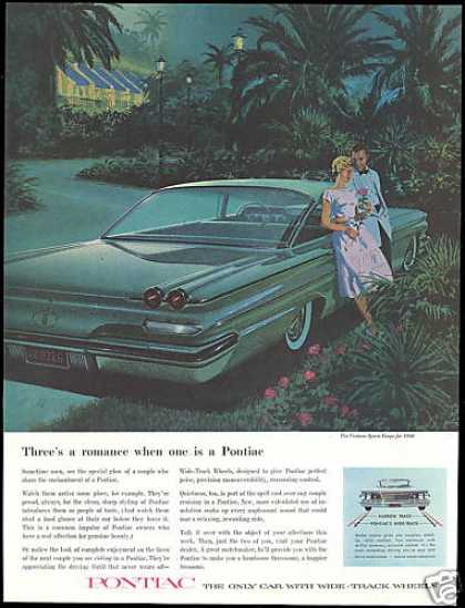 Pontiac Ventura Sports Coupe Car VK AF Art (1960)