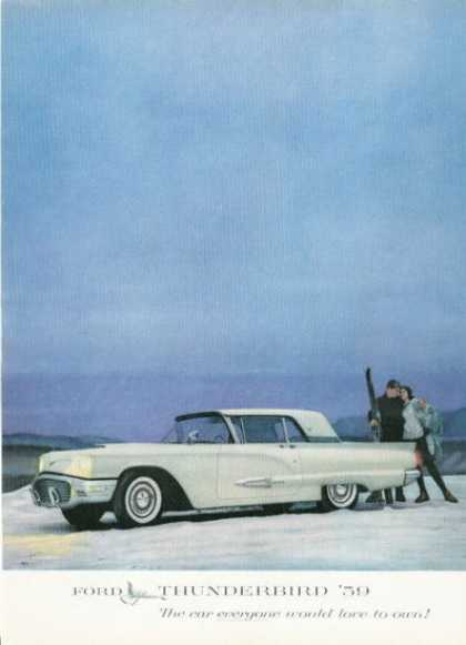 Ford Thunderbird Snow Ski (1959)