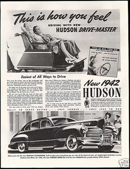 Hudson Commordore Car Vintage (1942)