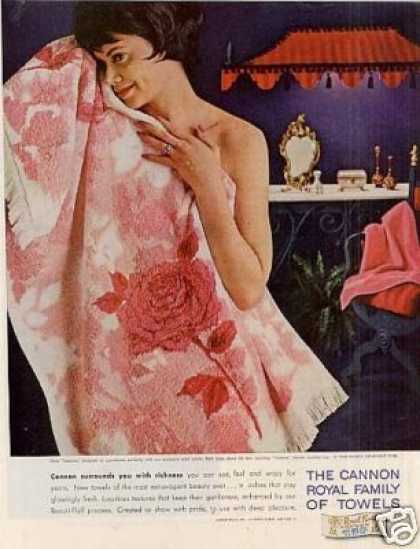 Cannon Towels (1962)