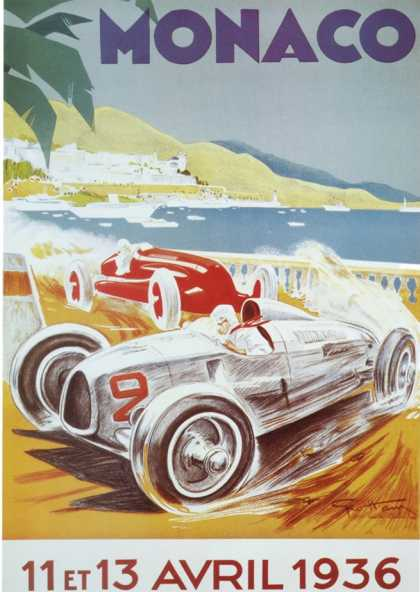 8th Grand Prix Automobile, Monaco (1936)