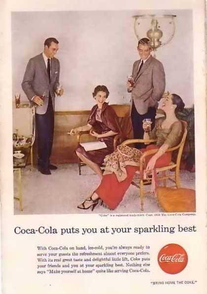 Coke Sparkling Best (1956)